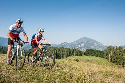 Mountainbiken in der Nationalpark Kalkalpen Region