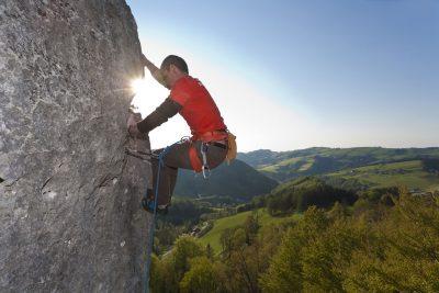 Klettern Sauzahn Action-Direkt (c) Leo Himsl